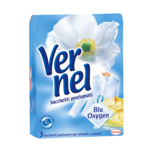 Vernel Sacch. Profumati Blu Oxygen