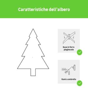 Albero Natale Cortina