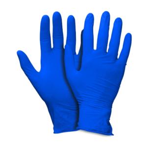 Guanti in Nitrile Blu