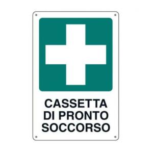 Cartello Cassetta Soccorso