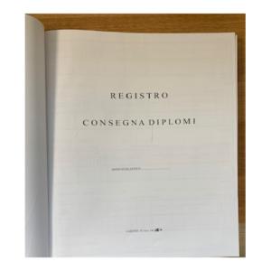 Registro Consegna Diplomi